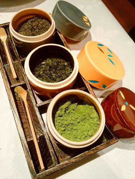 福寿園のお茶トッピング
