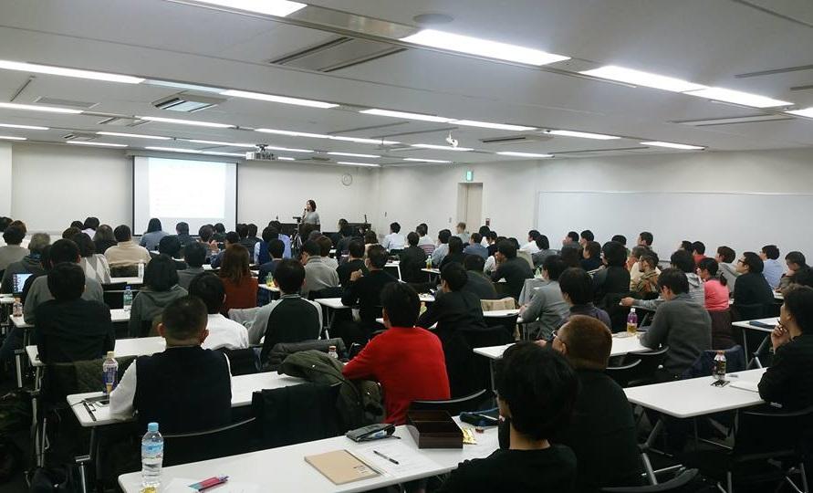 東京でのセミナーの様子