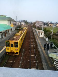 久大本線 古い列車