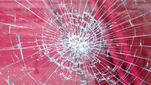 破損した商品のイメージ