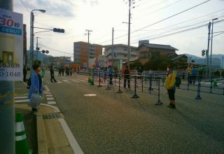 福岡マラソンのボランティア